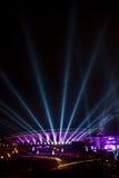 Spodek - sport ed arena culturale in Katowice, Polonia Fotografie Stock