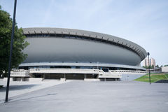 Spodek - sports and concert hall Stock Image
