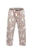 Spodnia z kwiecistym drukiem Fotografia Royalty Free