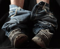 spodnie do Zdjęcie Royalty Free