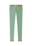Spodniowi Unisex spodnia Odizolowywający na Białym tle