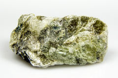 Spodumene mineral Stock Photo