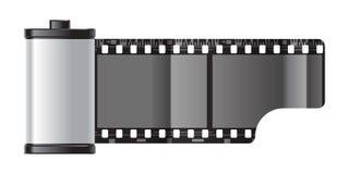 Spoel van film stock illustratie