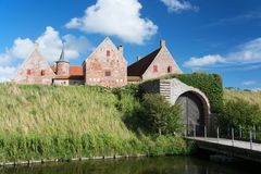 Castle Spottrup, Juetland, Denmark Royalty Free Stock Photo