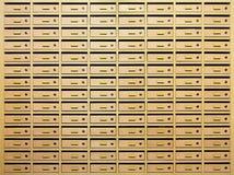 Spogliatoio della posta Immagini Stock