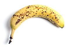 Spoiled banana Royalty Free Stock Photos