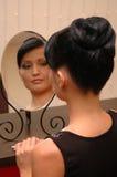 spojrzenia odzwierciedlają kobiety Obrazy Royalty Free