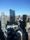 Spojrzenie przy miastem Zdjęcia Stock