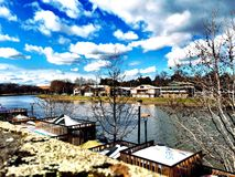 Spojrzenie przy Yarra rzeką Obraz Royalty Free