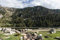 Spokój góra Obraz Royalty Free