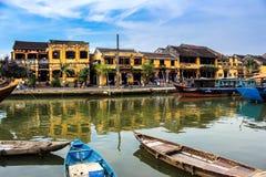 Spokój Hoi Antyczny miasteczko w Środkowym Wietnam fotografia stock