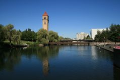 Spokane Stock Photo
