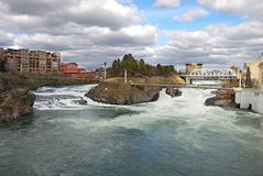 Spokane Photo libre de droits