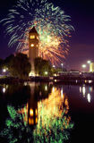 Spokane clocktower Royalty Free Stock Photography