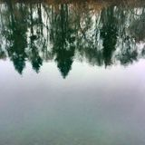 Spokane flod Arkivfoton