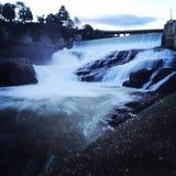 Spokane-Fluss Lizenzfreie Stockbilder