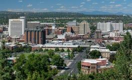 Spokane van de binnenstad stock fotografie