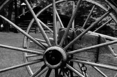 Spoke In Time B&W. A simplier time Royalty Free Stock Photography