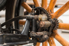 Spoke Wheel Hub Royalty Free Stock Photos