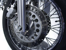 Spoked wheel Stock Image