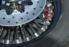 Spokes Royalty Free Stock Photo