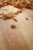 Spokeshave Sapele twardego drzewa deski układu scalonego golenia Obrazy Stock