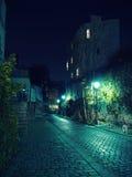 Spokojna noc w mieście Obrazy Royalty Free
