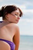 Spokojna plaża zdjęcia royalty free