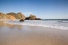 Spokojna plaża w Pfeiffer stanu plaży Obraz Royalty Free