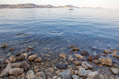 Spokojna pogoda na morzu Zdjęcie Royalty Free