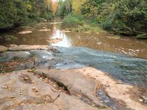 Spokojna rzeka Obrazy Stock