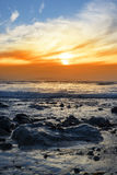 Spokojna skalista beal plaża Zdjęcie Royalty Free