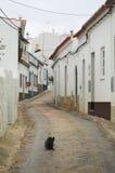 spokojna wioska śródziemnomorska fotografia stock