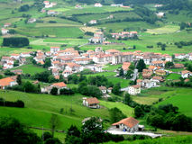 Spokojna wioska Zdjęcie Royalty Free