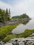 Spokojna zatoka rzeka Zdjęcie Royalty Free