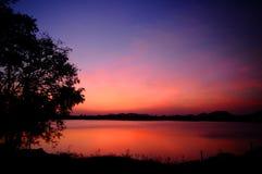 spokojnego jeziora Zdjęcia Stock