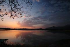 spokojnego jeziora Obraz Stock