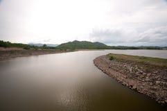 spokojnego jeziora Fotografia Royalty Free