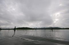 spokojnego jeziora Fotografia Stock