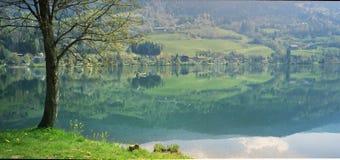 spokojnego jeziora Zdjęcie Stock