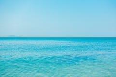 Spokojnego morza ocean Obrazy Stock