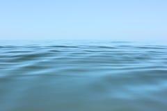 Spokojnego morza powierzchnia Obrazy Royalty Free