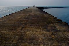 Spokojni wodni Środkowy Zachód Wielcy jeziora Fotografia Royalty Free