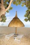 spokojnie, plaża Obrazy Royalty Free