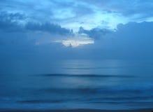 spokojnie wschód słońca zdjęcie stock