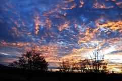 spokojnie wschód słońca Zdjęcie Royalty Free