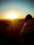 spokojnie wschód słońca Obrazy Royalty Free