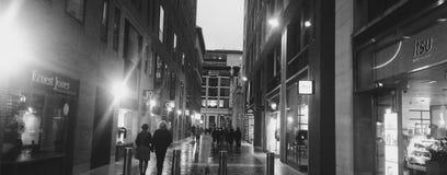 Spokojny Alleyway Zdjęcia Stock