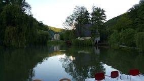 Spokojny jezioro Zdjęcia Stock