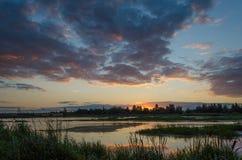 Spokojny jezioro Obrazy Stock